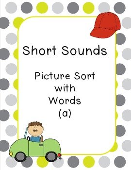 Short Sounds - Picture w Words (a)