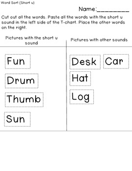 Short Sounds (Word)