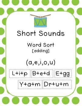 Short Sounds (Word - add)