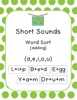 Short Sounds (Word - add)