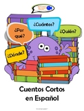 Short Spanish Stories for Kids with Worksheets! (Learn Spanish question words!)