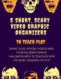 Short, Spooky Video Graphic Organizers to Teach Plot
