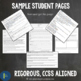 Middle School Short Stories Lesson Plans for Comprehension, Analysis and Writing