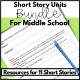 Middle School Short Stories Lesson Plans for Comprehension