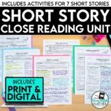 Short Stories Close Reading Bundle