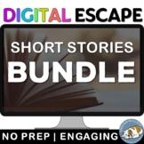 Short Stories Digital Escape Room Game Bundle