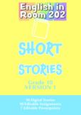 Short Stories Grade 10 Unit Plan