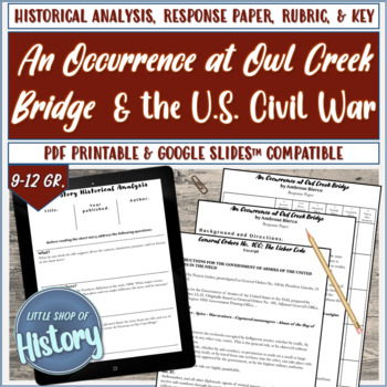 """Short Stories & History: """"An Occurrence at Owl Creek Bridge"""" and the Civil War"""