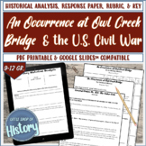"""Short Stories & History: """"An Occurrence at Owl Creek Bridg"""