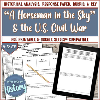 "Short Stories & History: Bierce's ""A Horseman in the Sky"" and the Civil War"