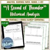 "Short Stories & History: Bradbury's ""A Sound of Thunder"" a"