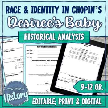 """Short Stories & History: Chopin's """"Desiree's Baby"""" and Race/Prejudice"""