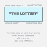 """Short Stories & History: Jackson's """"The Lottery"""" and post-"""