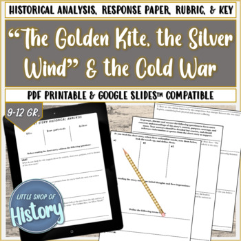"Short Stories & History: ""The Golden Kite, the Silver Wind"" and Cold War"