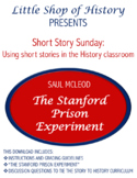 Short Stories & History: The Stanford Prison Experiment and WWII/Holocaust