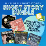 Short Stories Interactive Google Slides Close Reading Bundle!