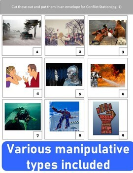 Short Stories Manipulatives: Practice or Review Literary Terms