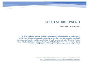 Short Stories Packet