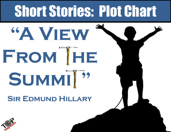 "Short Story: Plot Chart ""A View From the Summit"" Sir Edmund Hillary"