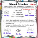 Short Stories SET 1 for Google Docs - Distance Learning