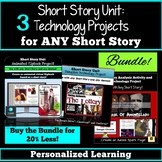 Short Stories: Technology Projects - Use with ANY Short Story!