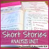 Short Story Unit - Literary Analysis (paper + digital + ISNs)