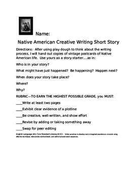 Native America History Month:  Prep FREE Two Day's of Writing