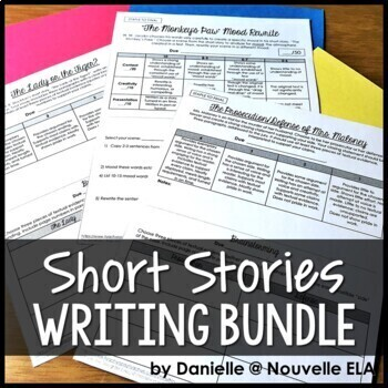Short Stories - Writing Activities Bundle