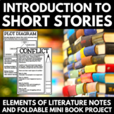 Elements of Literature - Introduction to Short Stories - Notes and Foldables