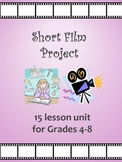 Short Stories and Films- 15 lesson unit with Film Project