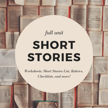 Short Stories and Literary Elements Unit Bundle