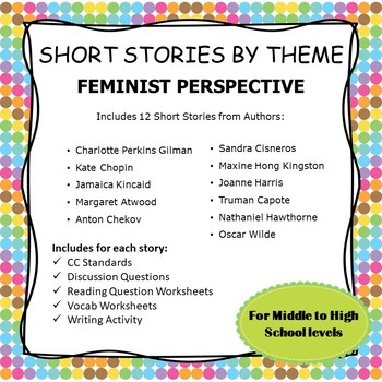 Short Stories by Theme--Feminist Perspective