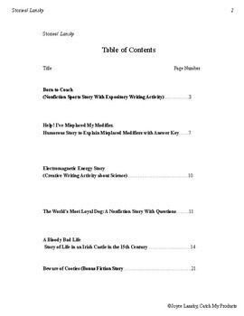 Reading Comprehension Passages Short Stories