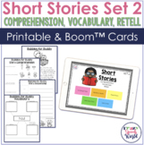 Short Stories for Comprehension, Vocabulary, & Retell TWO
