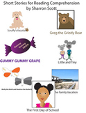 Short Stories for Elementary Students with Posters-10 stories