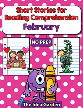 Short Stories for Reading Comprehension - February