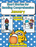 Short Stories for Reading Comprehension - January