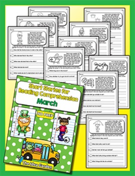 Short Stories for Reading Comprehension - March
