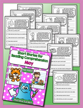 Short Stories for Reading Comprehension - May