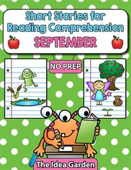 Short Stories for Reading Comprehension - September