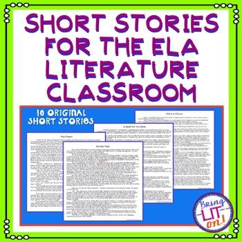 Short Stories for the ELA Literature Class