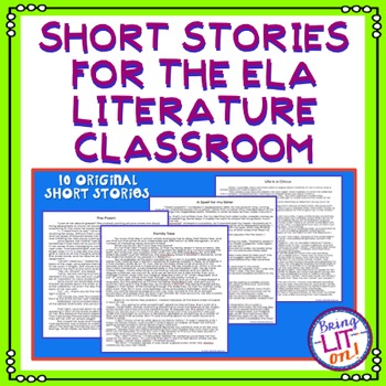 Short Stories for the ELA Literature Class
