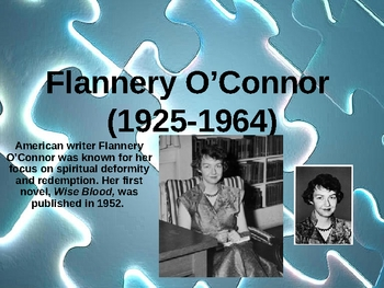 Short Stories of Flannery O'Connor Powerpoint