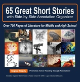 Short Story ANTHOLOGY: 65 Stories with Side-by-Side Annota