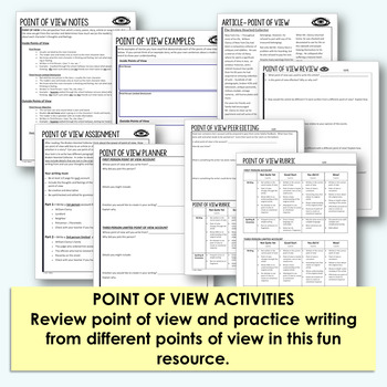 Short Story Activities for ANY Short Story