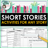 Short Stories Bundle - Activities for ANY Short Story