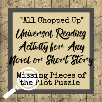Plot Elements Activity: Short Story Writing and Reading Engagement