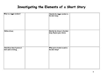 Short Story Analysis