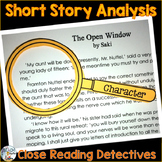 Short Story Analysis and Close Reading