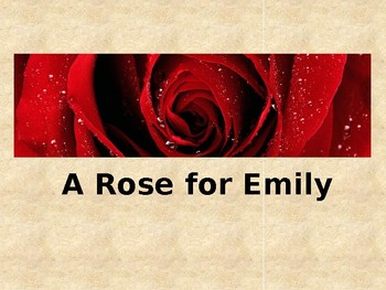 Short Story Analysis Sample A Rose For Emily By Cat In High School